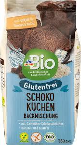 schokokuchen backmischung glutenfrei 380 g