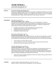 Banking Manager Resume Bank Sample Branch Samples