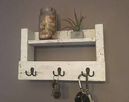 Rustic Key Holder Mail Decor Farmhouse Shabby Chic
