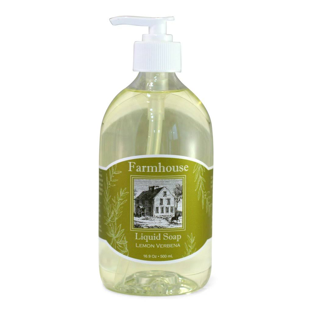 Sweet Grass Farm Liquid Hand Soap - Lemon Verbena 16.9 Ounce