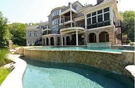 Exquisite Brick & Stone Mansion In Franklin TN