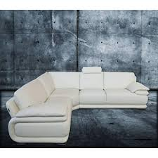 Chateau Dax Leather Sectional Sofa by Atlantic Sectional Chateau D U0027ax Italmoda Furniture Store