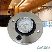 12v led directional eyeball cabinet light rv motorhome boat l