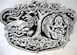 Fenrir Hugin Mugin Jormungandr Yggdrasil By Tattoo Design