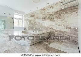 luxus badezimmer mit marmor fliesenmuster bild