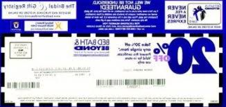 bed bath and beyond coupons printable coupons in store coupon