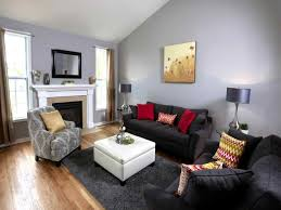 paint ideas for your fresh gray living room wall designs paint