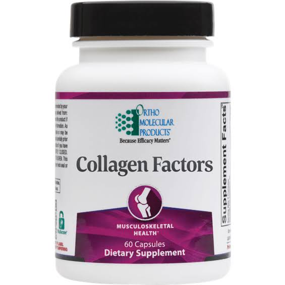 Ortho Molecular - Collagen Factors 60 Capsules