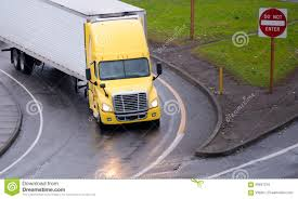 Yellow Semi Truck And Reefer Trailer Turn On Highway Exit Stock ... Semi Truck Lights Stock Photos Images Alamy Luxury All Lit Up I Dig If It Was Even A Hauler Flashing Truck Lights At Accident Video Footage Tesla Electrek Scania Coe With Large Sleeper Lots Of Chicken Trucks 4 A Lot Bright Youtube Evening Stop Number Trucks In Parking Orbitz Led Latest News Breaking Headlines And Top Stories Blue And Trailer On Road With Traffic Image