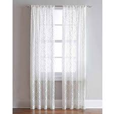 Bed Bath And Beyond Semi Sheer Curtains by Decor Sheer Drapery Brown Sheer Curtains Sheer Curtains
