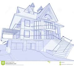 100 Modern Houses Blueprints House Blueprint Stock Vector Illustration Of Background