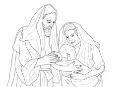 Abraham Sarah And Their Newborn Son Isaac Coloring Page From Category Select