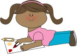 Coloring A Picture girl coloring clip art girl coloring image