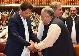 ISLAMABAD Pakistans Parliament On Wednesday Elected An Ally Of Imran Khan As Its Speaker Paving The Way For Former Cricket Star To Become Next
