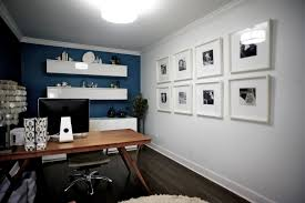 white leather office chair home theater eclectic with blue wall