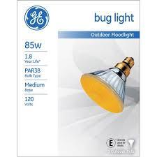 ge 85 watt par 38 bug light floodlight 1 pack walmart