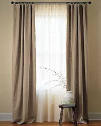 Searsca Sheer Curtains by Double Drapery Rod For Panels Sheers For The Home Pinterest