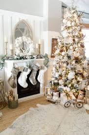 Glam Rustic Christmas Tree Decor