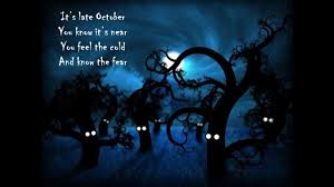 Poems About Halloween by Scary Halloween Poem Youtube