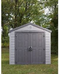 Keter Manor 4x6 Storage Shed by Amazing Deal On Keter Sunterrace 6 Ft X 8 Ft Resin Outdoor