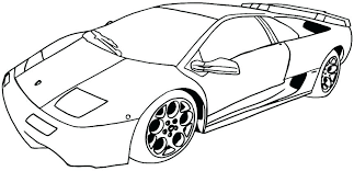Free Cars Coloring Pages Sports Car Printable Best Of Colouring Cool Large