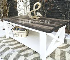 Grey Wood Coffee Tables Reclaimed Table