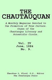 The Project Gutenberg EBook Of Chautauquan Vol IV June 1884