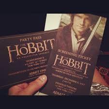 My Own Unexpected Adventure Attending The Hobbit Premiere Heiress