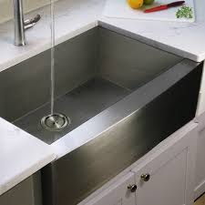 Overstock Stainless Steel Kitchen Sinks by Stainless Steel Single Bowl Apron Farmhouse Kitchen Sink With