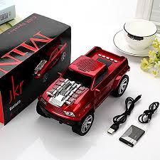 DS 396BT Car Model PICK-UP Pickup Truck Wireless Bluetooth Speakers ...