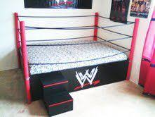 a wrestling ring bed no one would sleep just play p my dream