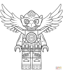 Download Coloring Pages Lego Chima Eagle Eris Page Free Printable