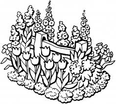 Cool Flower Garden Coloring Pages