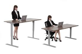 fice Furniture Height Adjustable Desks • fice Desk Ideas