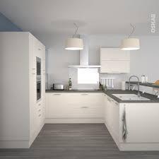 cuisine grise plan de travail bois cuisine grise et blanche cuisine blanc laque plan travail bois 3