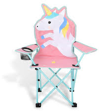 KABOER Kids Outdoor Folding Lawn And Camping Chair With Cup Holder, Unicorn  Camp Chair Flash Fniture Kids White Resin Folding Chair With Vinyl How To Save Yourself Money Diy Patio Repair Aqua Lawn The Best Camping Chairs Travel Leisure Pair Of By Telescope Company Top 14 In 2019 Closeup Check Lavish Home Black Cushion Seat Foldable Set 2 7 Sturdy For Fat People Up To And Beyond 500 Pounds Reweb A 10 Easy Wooden Benches Family Hdyman Wrought Iron Ideas Outdoor Stackable