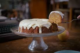 Spiced Apple Bundt Cake w maple cream cheese frosting — Recipe Fiction