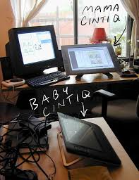 Lx Desk Mount Lcd Arm Cintiq by Amazing Cable Management When Nerdiness Meets Ocd Evocative