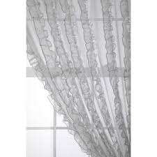 Pink Ruffle Curtains Urban Outfitters by Flounce Ruffle Stripe Curtain Urban Outfitters Polyvore