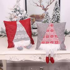 weihnachten dekorationen rudolph forester der fuß hebe kissen hause schaufenster wohnzimmer atmosphäre layout weihnachten