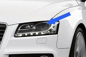 audi a5 bi xenon headlights with led drls 2007 2012 supply fit