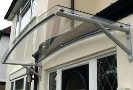 patio door awnings uk polycarbonate door awnings modern style patio door awnings with