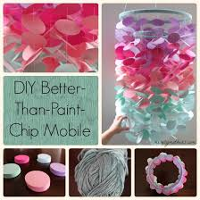 Diy Room Decor Projects Step By Paint Chip Art Images Colour Pattern Pai On Origami