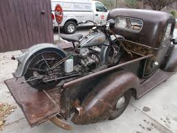1936 Harley Davidson Barn Find Rusty Knuckles Motors and Music