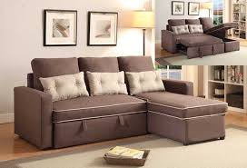 PULL OUT SOFA BED WITH ONE ARM LOVE SEAT