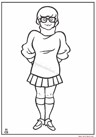 Scooby Doo Coloring Pages 32