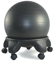 Yoga Ball Desk Chair Size by Desk Chair Stability Ball Desk Chair By Yoga Office Reviews