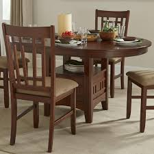 5 Piece Oval Dining Room Sets by Oval Dining Table Set With Cushioned Side Chairs By Intercon