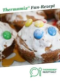 joghurt schokostreusel muffins mit smarties