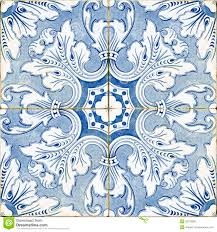 vintage portuguese blue tiles stock photo image 33218990